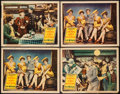 "Movie Posters:Adventure, The Bowery (United Artists, 1933). Lobby Cards (4) (11"" X 14"").Adventure.. ... (Total: 4 Items)"