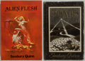 Books:Science Fiction & Fantasy, Seabury Quinn. Group of Two Books including: Roads. Sauk City: Arkham House, 1948. [and]: Alien Fles... (Total: 2 Items)