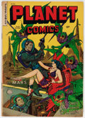 Golden Age (1938-1955):Science Fiction, Planet Comics #69 (Fiction House, 1953) Condition: VG....