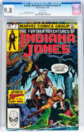 Modern Age (1980-Present):Miscellaneous, The Further Adventures of Indiana Jones #7 (Marvel, 1983) CGC NM/MT 9.8 White pages....