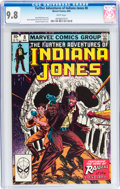 Modern Age (1980-Present):Miscellaneous, The Further Adventures of Indiana Jones #8 (Marvel, 1983) CGC NM/MT 9.8 White pages....