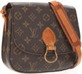 Luxury Accessories:Accessories, Louis Vuitton Classic Monogram Canvas St. Cloud Shoulder Bag. ...