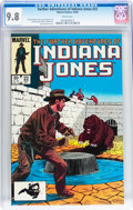 Modern Age (1980-Present):Miscellaneous, The Further Adventures of Indiana Jones #22 (Marvel, 1984) CGC NM/MT 9.8 White pages....