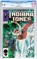 Modern Age (1980-Present):Miscellaneous, The Further Adventures of Indiana Jones #23 (Marvel, 1984) CGC NM/MT 9.8 White pages....