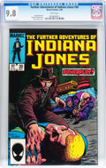 Modern Age (1980-Present):Miscellaneous, The Further Adventures of Indiana Jones #30 (Marvel, 1985) CGC NM/MT 9.8 White pages....