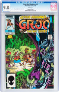 Modern Age (1980-Present):Humor, Groo the Wanderer #5 (Marvel, 1985) CGC NM/MT 9.8 White pages....