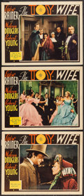 """Movie Posters:Drama, The Toy Wife (MGM, 1938). Lobby Cards (3) (11"""" X 14""""). Drama.. ... (Total: 3 Items)"""