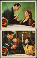 "Movie Posters:Comedy, When Ladies Meet (MGM, 1941). Lobby Cards (2) (11"" X 14""). Comedy.. ... (Total: 2 Items)"