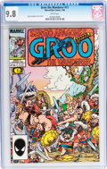 Modern Age (1980-Present):Humor, Groo the Wanderer #11 (Marvel, 1986) CGC NM/MT 9.8 White pages....