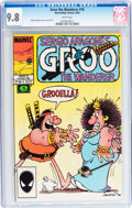 Modern Age (1980-Present):Humor, Groo the Wanderer #18 (Marvel, 1986) CGC NM/MT 9.8 White pages....