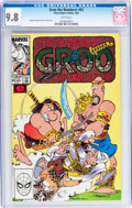 Modern Age (1980-Present):Humor, Groo the Wanderer #63 (Marvel, 1990) CGC NM/MT 9.8 White pages....
