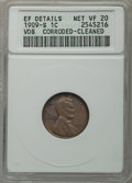 1909-S 1C VDB -- Cleaned, Corroded -- ANACS. XF Details Net, VF20. NGC Census: (350/3729). PCGS Population (676/6805). M...