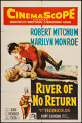 """Movie Posters:Western, River of No Return (20th Century Fox, 1954). One Sheet (27"""" X 41""""). Western.. ..."""