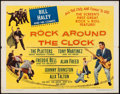 "Movie Posters:Rock and Roll, Rock Around the Clock (Columbia, 1956). Half Sheet (22"" X 28"")Style B. Rock and Roll.. ..."