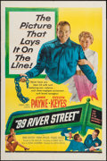 "Movie Posters:Crime, 99 River Street (United Artists, 1953). One Sheet (27"" X 41"").Crime.. ..."
