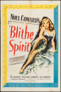 "Movie Posters:Comedy, Blithe Spirit (United Artists, 1945). One Sheet (27"" X 41""). Comedy.. ..."