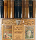Books:Periodicals, Scribner's Magazine. Ten Bound Sets and Eight SeparateIssues. Spans discontinuously from 1891 to 1915. New York: Sc...(Total: 18 Items)