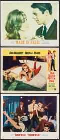 """Movie Posters:Elvis Presley, Double Trouble and Others Lot (MGM, 1967). Lobby Cards (3) (11"""" X14""""). Elvis Presley.. ... (Total: 3 Items)"""