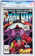 Modern Age (1980-Present):Superhero, Iron Man #169 (Marvel, 1983) CGC NM/MT 9.8 White pages....