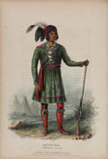 Books:Color-Plate Books, Thomas L. McKenney and James Hall. History of the Indian Tribesof North America, with Biographical Sketches and Anecdot...