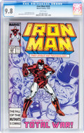 Modern Age (1980-Present):Superhero, Iron Man #225 (Marvel, 1987) CGC NM/MT 9.8 White pages....