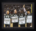 Football Collectibles:Photos, New York Jets Sack Exchange Multi Signed Oversized Photograph. ...