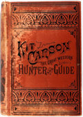 Books:Americana & American History, Charles Burdett. Life of Kit Carson: The Great Western Hunterand Guide. Philadelphia: John E. Potter, 1869. Later e...