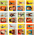 Football Cards:Sets, 1957 Topps Football Partial Set (103/154) With Unitas. ...