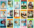 Football Cards:Sets, 1972 Topps Football Complete Low Number Set #'s 1-263 (263). ...
