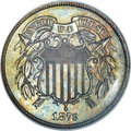 Proof Two Cent Pieces, 1873 2C Closed 3 PR65 Brown NGC....