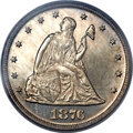 Proof Twenty Cent Pieces, 1876 20C PR63 PCGS. CAC....