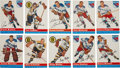 Hockey Cards:Lots, 1954 Topps Hockey Collection (49). ...