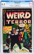 Golden Age (1938-1955):Horror, Weird Terror #10 (Comic Media, 1954) CGC FN+ 6.5 Cream to off-whitepages....