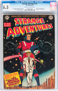 Golden Age (1938-1955):Science Fiction, Strange Adventures #9 (DC, 1951) CGC FN+ 6.5 Off-white to whitepages....