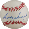 Golf Collectibles:Autographs, Sam Snead Single Signed Baseball....