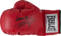Boxing Collectibles:Autographs, Smokin' Joe Frazier Signed Boxing Glove....