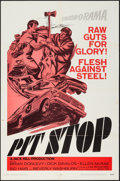"Movie Posters:Sports, Pit Stop (Unknown, 1969). One Sheet (27"" X 41""). Sports.. ..."