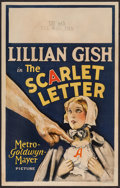 "Movie Posters:Drama, The Scarlet Letter (MGM, 1926). Window Card (14"" X 22""). Drama....."