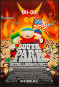 """Movie Posters:Animation, South Park: Bigger Longer & Uncut (Paramount, 1999). One Sheet (27"""" X 40"""") DS. Animation.. ..."""