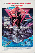 "Movie Posters:James Bond, The Spy Who Loved Me (United Artists, 1977). One Sheet (27"" X 41"").James Bond.. ..."