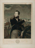 Books:Prints & Leaves, [American Heritage Archives]. Hand-Colored Print of Major GeneralWinfield Scott Portrait by T. Gimbrede & Sculpt. Printed b...