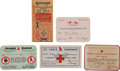 Baseball Collectibles:Tickets, St Louis Cardinals And Browns Vintage Ticket Collection Lot Of 5....