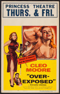 "Movie Posters:Bad Girl, Over-Exposed (Columbia, 1956). Window Card (14"" X 22""). Bad Girl.. ..."