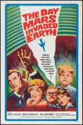 "Movie Posters:Science Fiction, The Day Mars Invaded Earth (20th Century Fox, 1963). One Sheet (27""X 41""). Science Fiction.. ..."