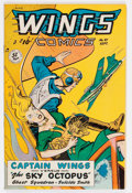 Golden Age (1938-1955):Adventure, Wings Comics #97 (Fiction House, 1948) Mile High pedigree Condition: VF/NM....