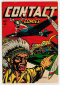 Golden Age (1938-1955):War, Contact Comics #7 (Aviation Press, 1945) Condition: FN....