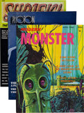 Magazines:Miscellaneous, Monster Magazine Group (Various Publishers, 1960s-90s) Condition:Average VF.... (Total: 15 Items)