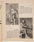 Basketball Collectibles:Programs, 1963 San Francisco Warriors and Syracuse Nationals Multi SignedSheet and Program - With Chamberlin Autograph!...
