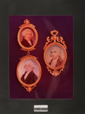 Books:Prints & Leaves, [American Heritage Archives]. Original Transparency of ThreeFounding Father Portraits. Features James Madison, James Wilson...
