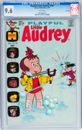 Bronze Age (1970-1979):Humor, Playful Little Audrey #107 File Copy (Harvey, 1973) CGC NM+ 9.6White pages....